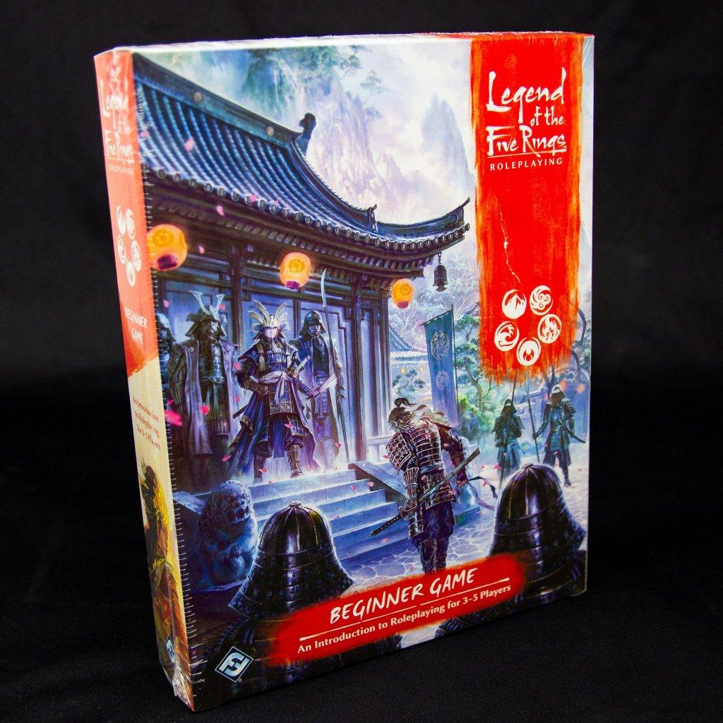 Legend of the Five Rings: RPG Roleplaying Beginner Game - EN (FFG)