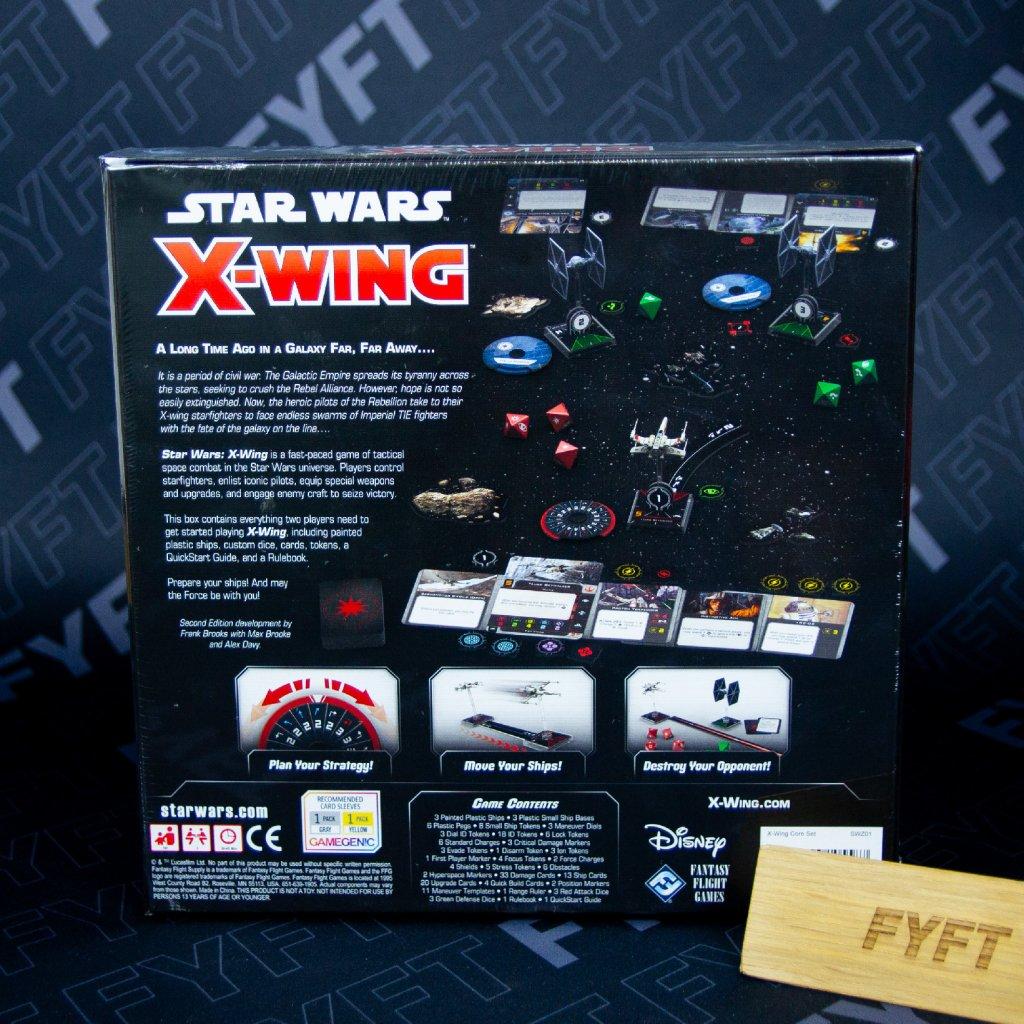 Star Wars: X-Wing Miniatures Core Set (2nd edition) - EN (FFG)