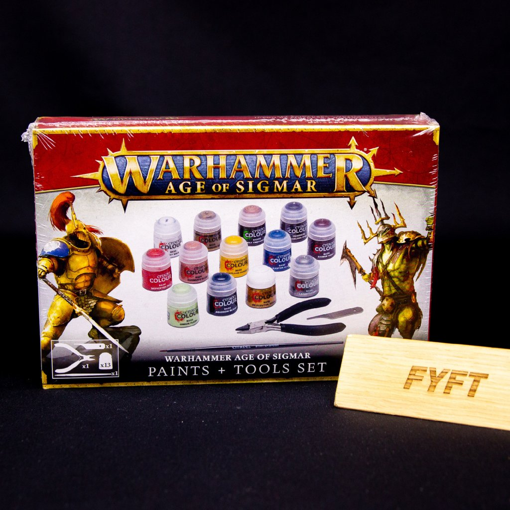 Warhammer: Age of Sigmar - Paints + Tools