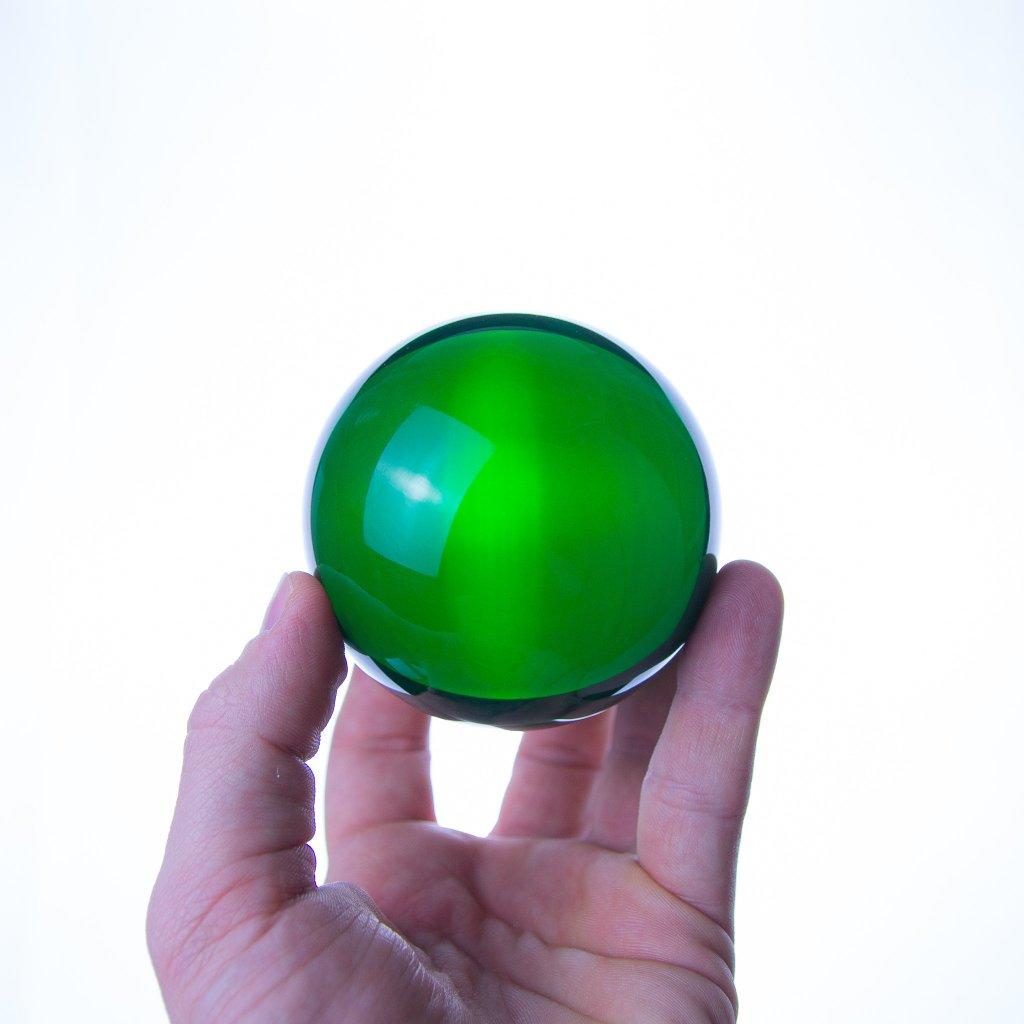 75mm barevná Akrylová kontaktní koule