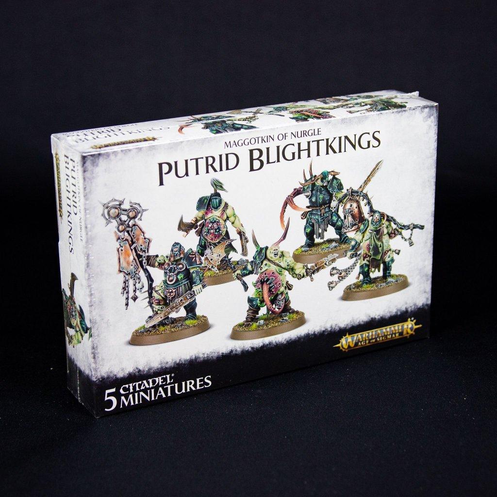 Warhammer: Age of Sigmar - Nurgle Rotbringers Putrid Blightkings