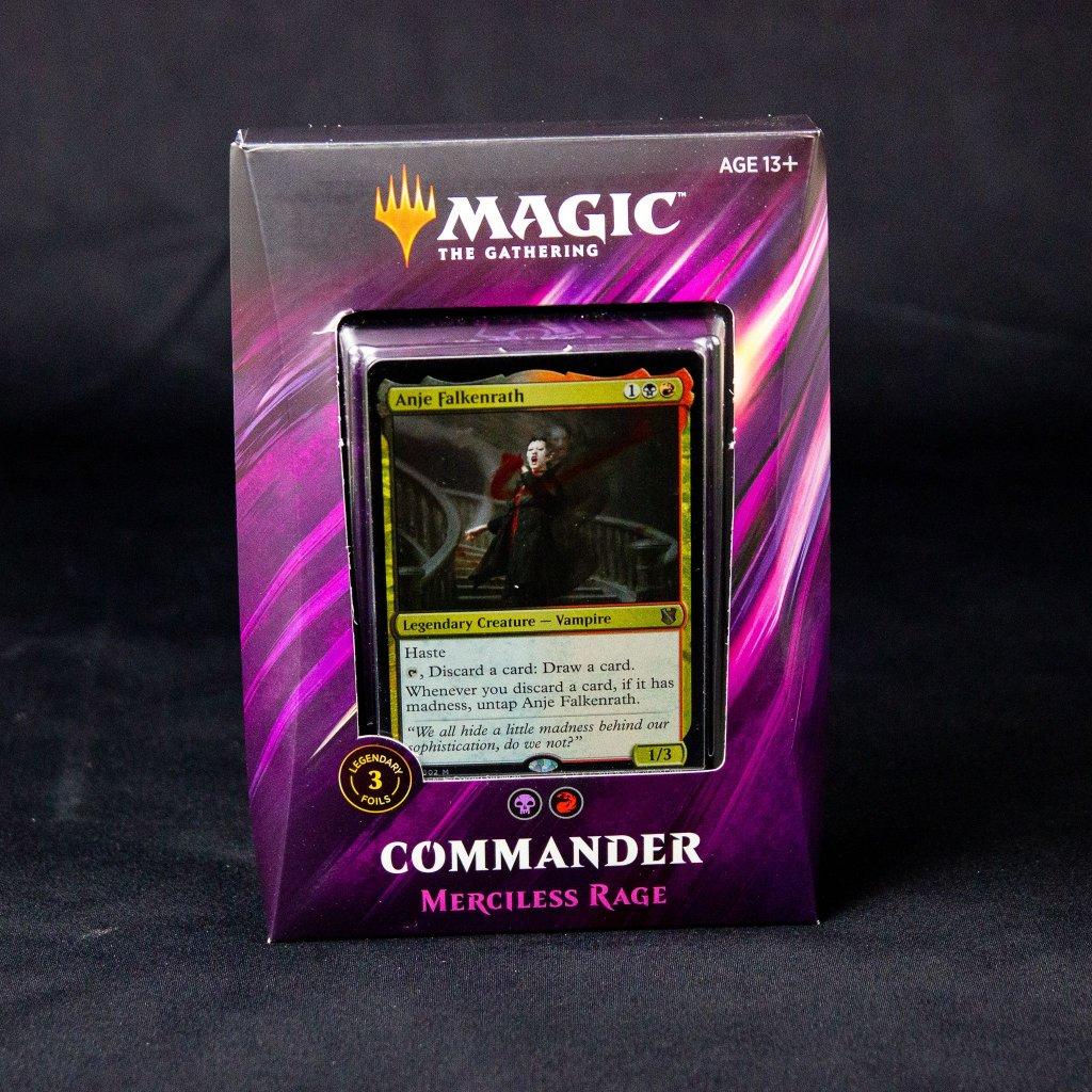 Merciless Rage - Commander 2019 MTG (Magic: The Gathering)