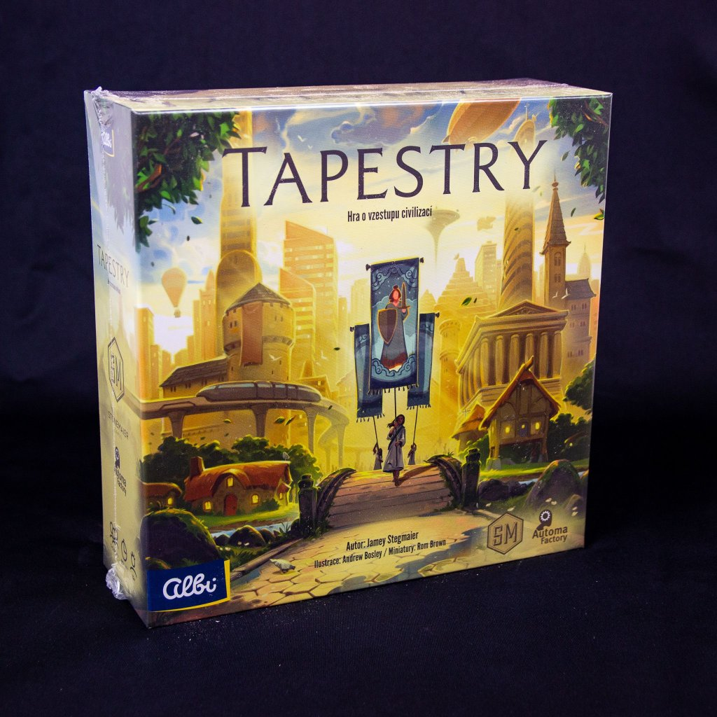 Tapestry - CZ (Stonemaier Games)