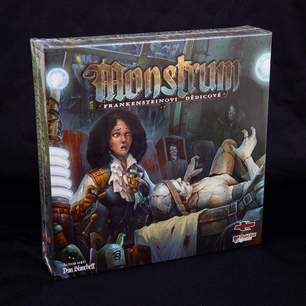 Monstrum: Frankensteinovi dědicové (Plaid Hat Games)
