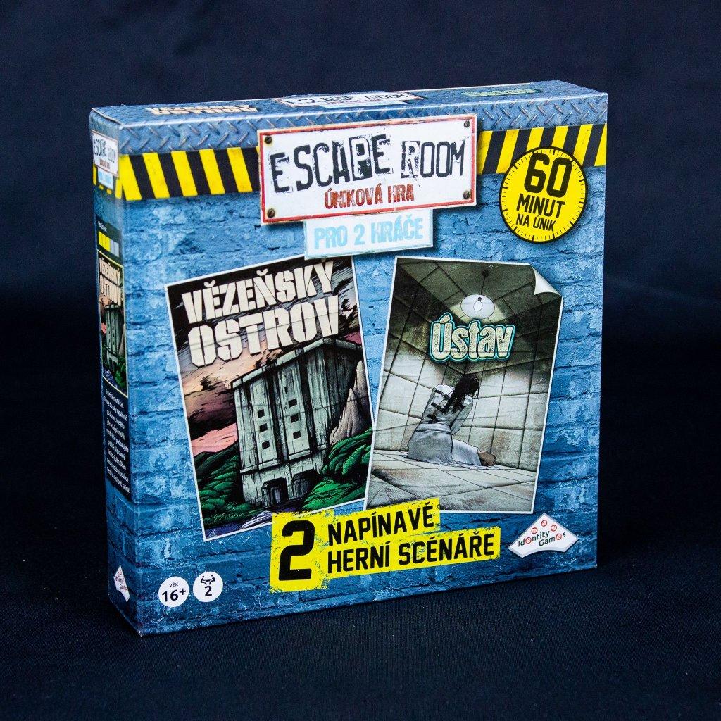 Escape room: Úniková hra pro 2 hráče (Identity Games)