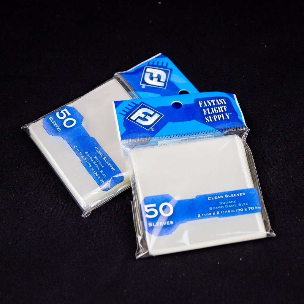 FFG Square size clear (70 x 70 mm, 50ks) - obaly na karty