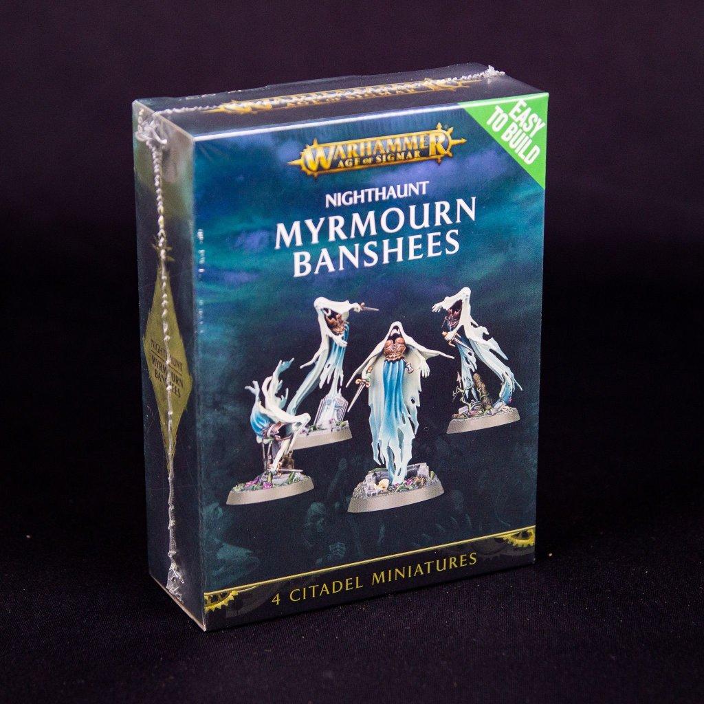 Warhammer: Age of Sigmar - Easy to Build - Nighthaunt Myrmourn Banshees