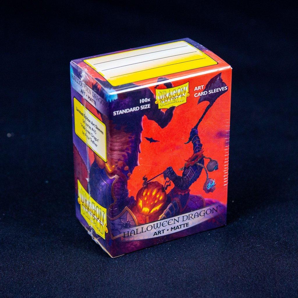 Obaly na karty Dragon Shield - Halloween Dragon Art matte (100 ks)