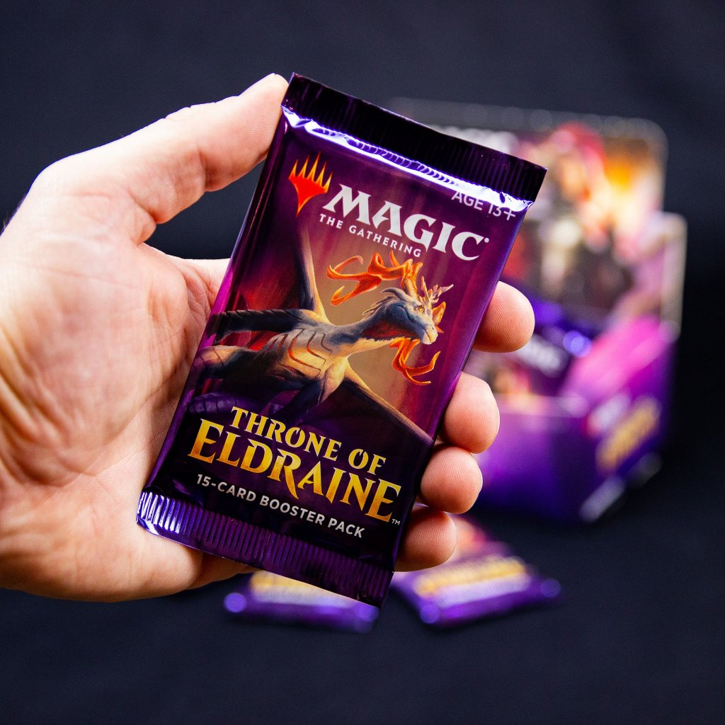 Throne of Eldraine MTG booster (Magic: The Gathering)