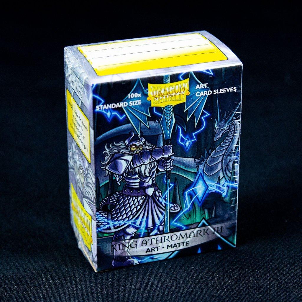 Obaly na karty Dragon Shield - King Athromark III: Portrait - Art matte (100ks)