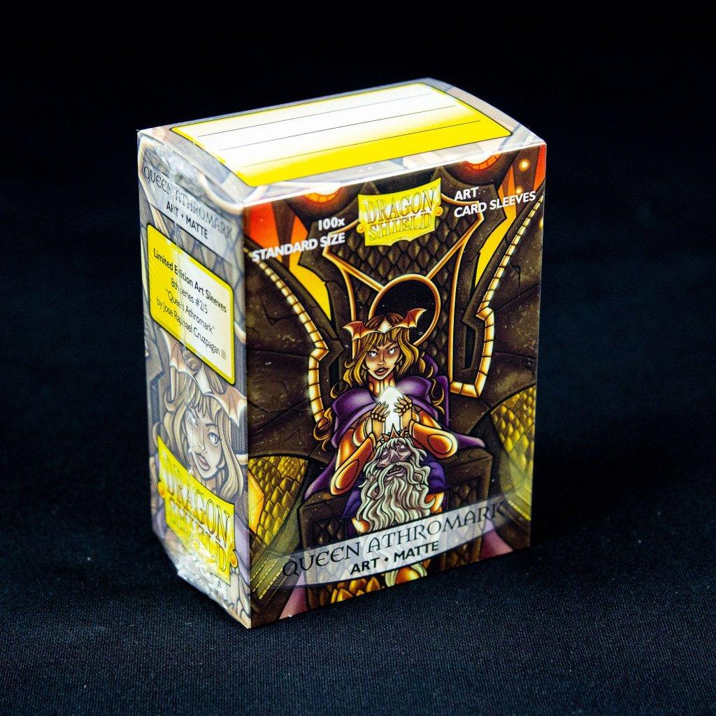 Queen Athromark: Portrait Art Matte (100ks) - Dragon Shield obaly na karty