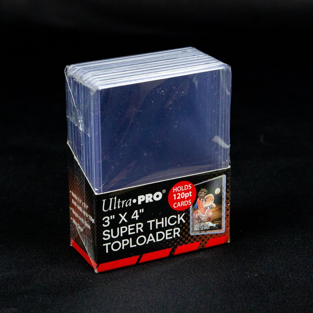 "Super Thick Toploader 3""x4"" 120pt (Ultra Pro)"