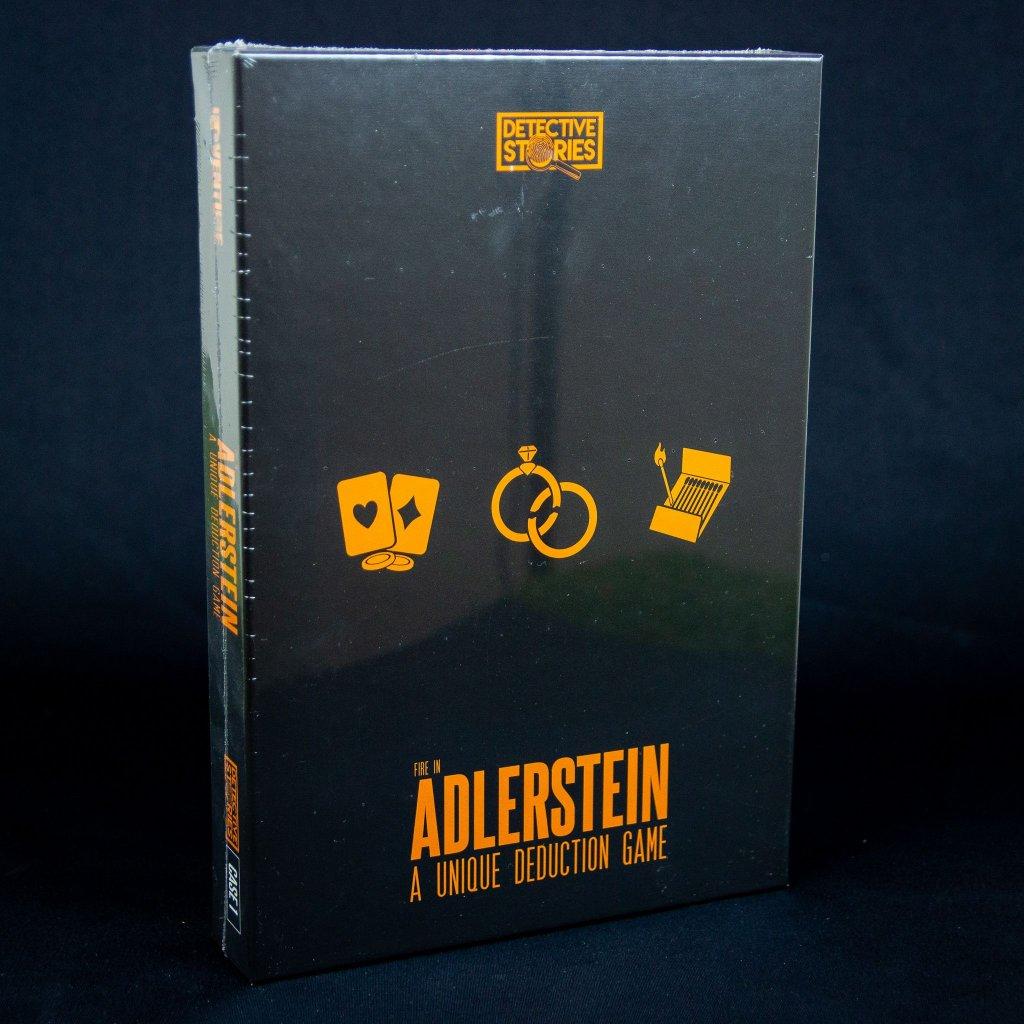 Detective Stories. Case 1: The fire in Adlerstein - EN (iDventure)