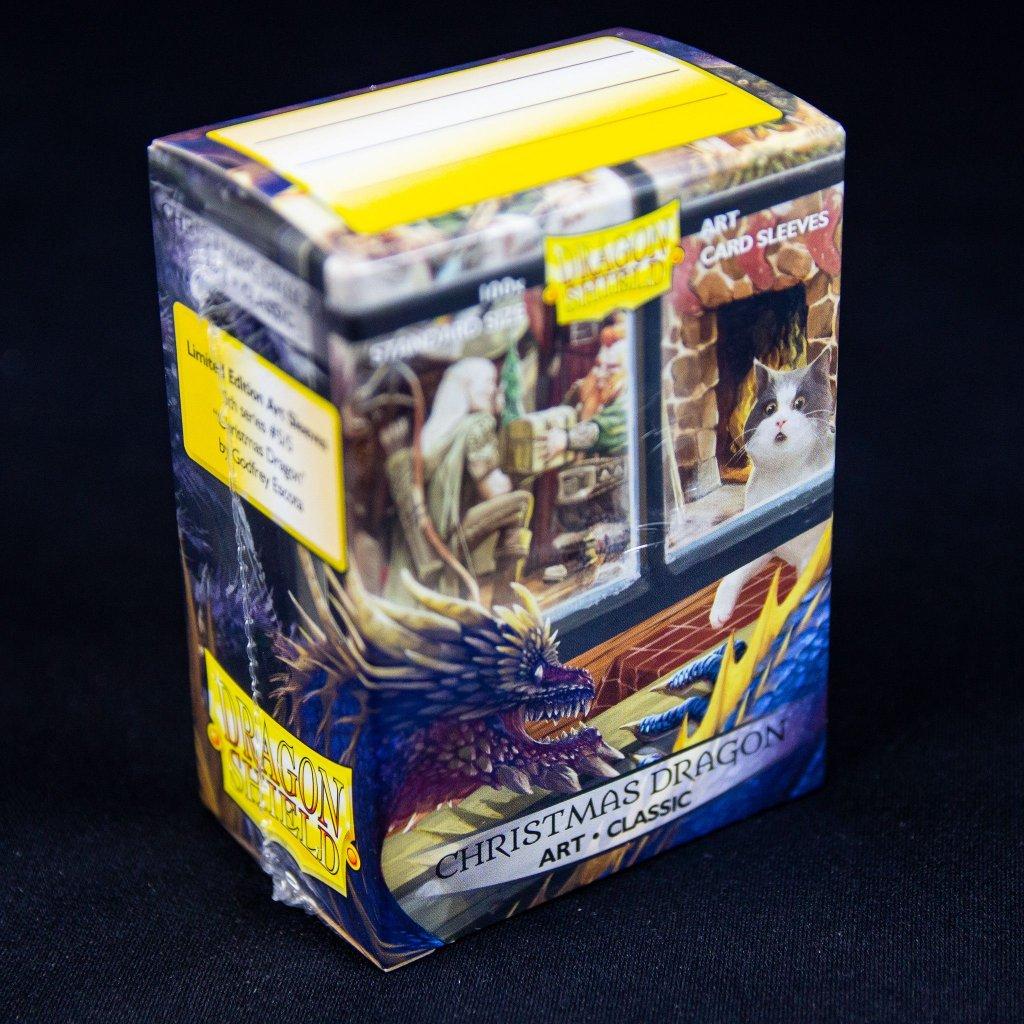 Obaly na karty Dragon Shield Classic Art - Christmas Dragon (100ks)