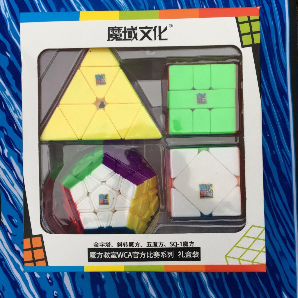 Shaped dárkový cubing set (MoYu)