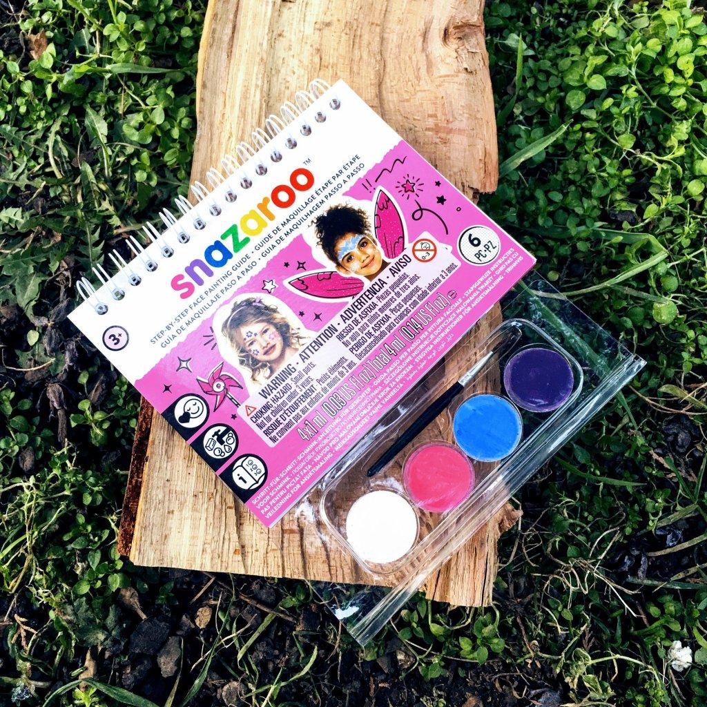 Snazaroo sada malování na obličej s postupem - růžová