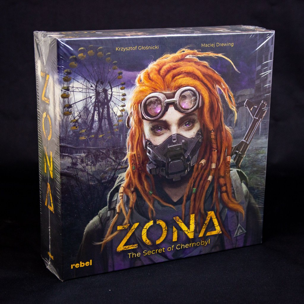 Zona: The Secret of Chernobyl - EN (Rebel)