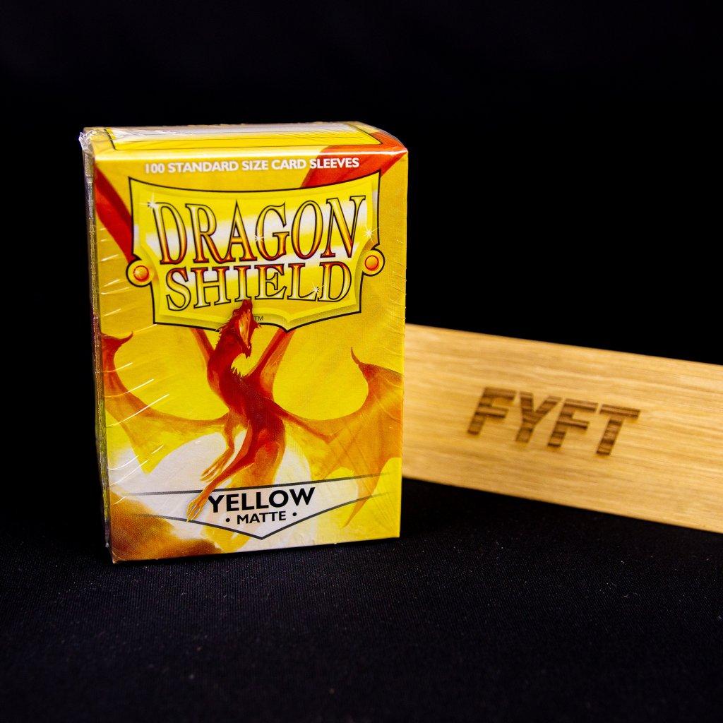 Yellow Matte (100ks) - Dragon Shield obaly na karty