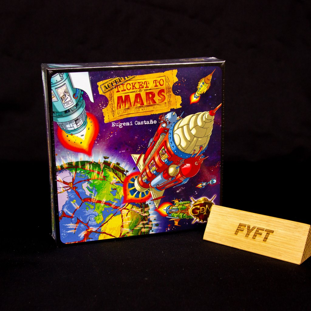 Ticket to Mars - EN/DE/FR/SP (GDM Games)