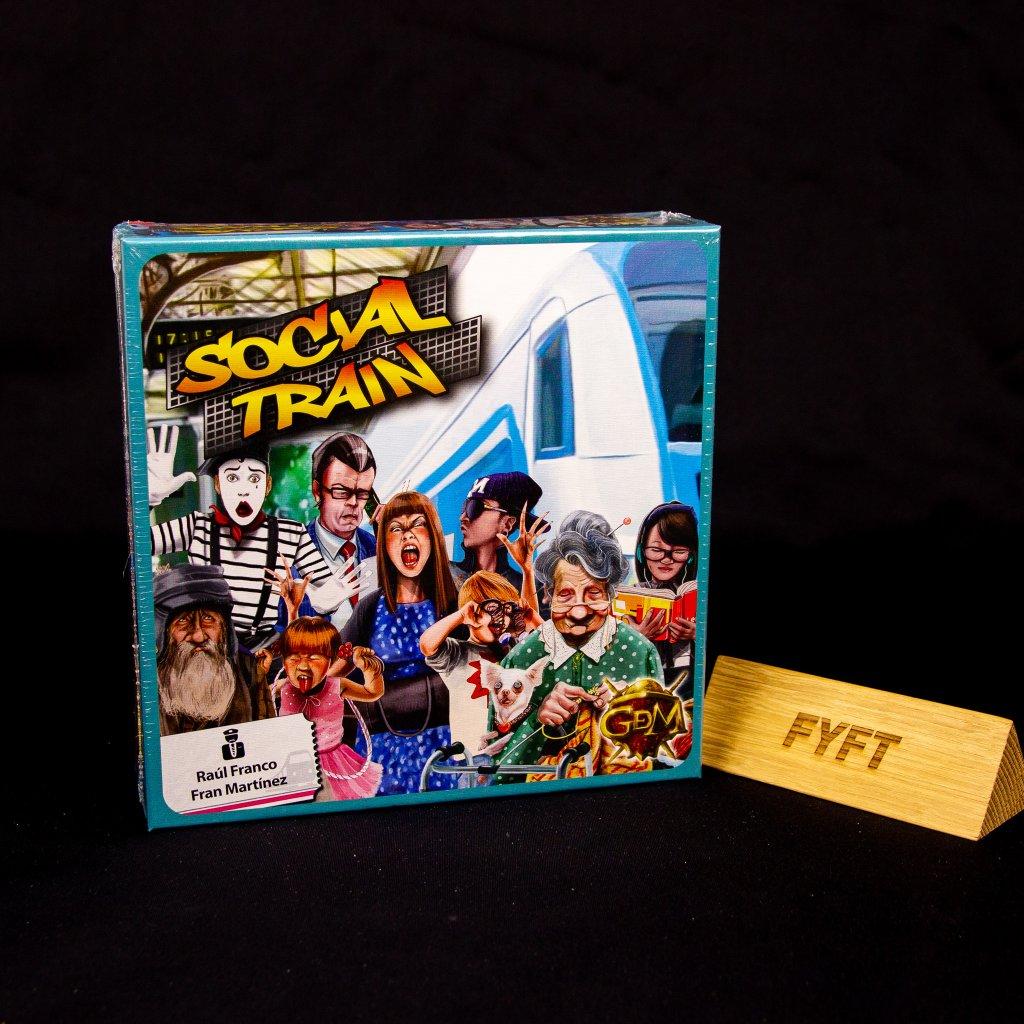 Social Train - EN/DE/FR/SP (GDM Games)