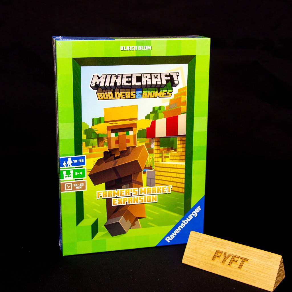 Minecraft Builders & Biomes - Farmer's Market Expansion (Ravensburger)