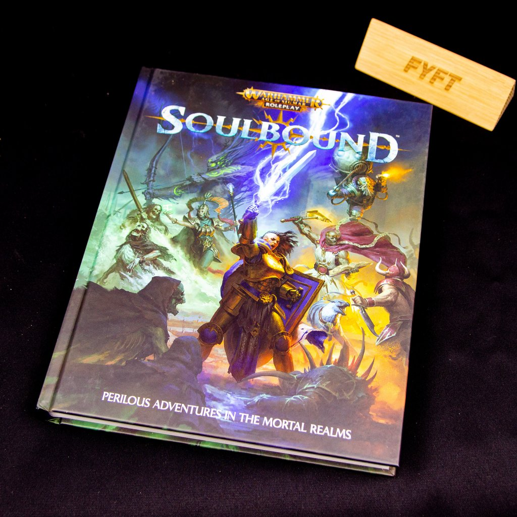 Warhammer Age of Sigmar: Soulbound RPG (Cubicle 7)