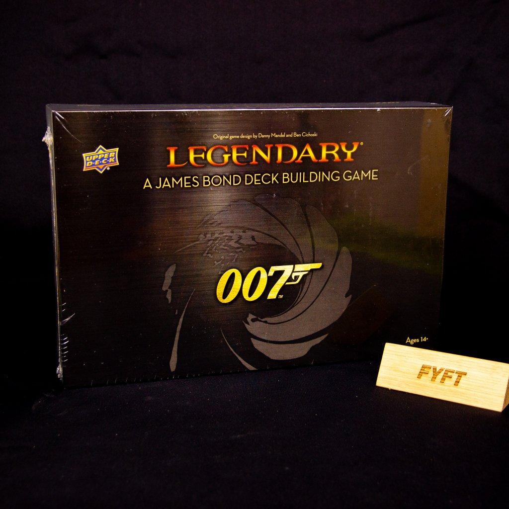 Legendary: A James Bond Deck Building Game - EN (Upper Deck)