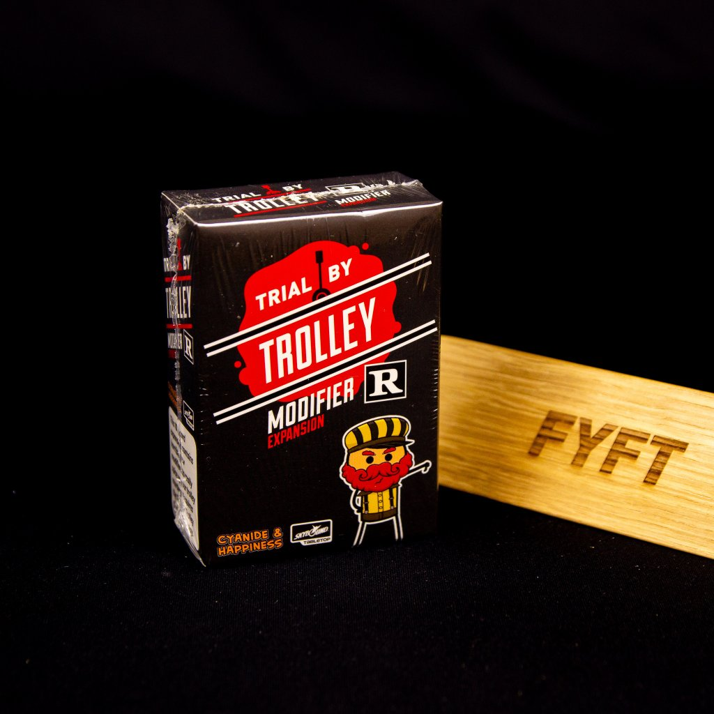 Trial By Trolley: R-Rated Modifier Expansion - EN (Lucky Duck Games)