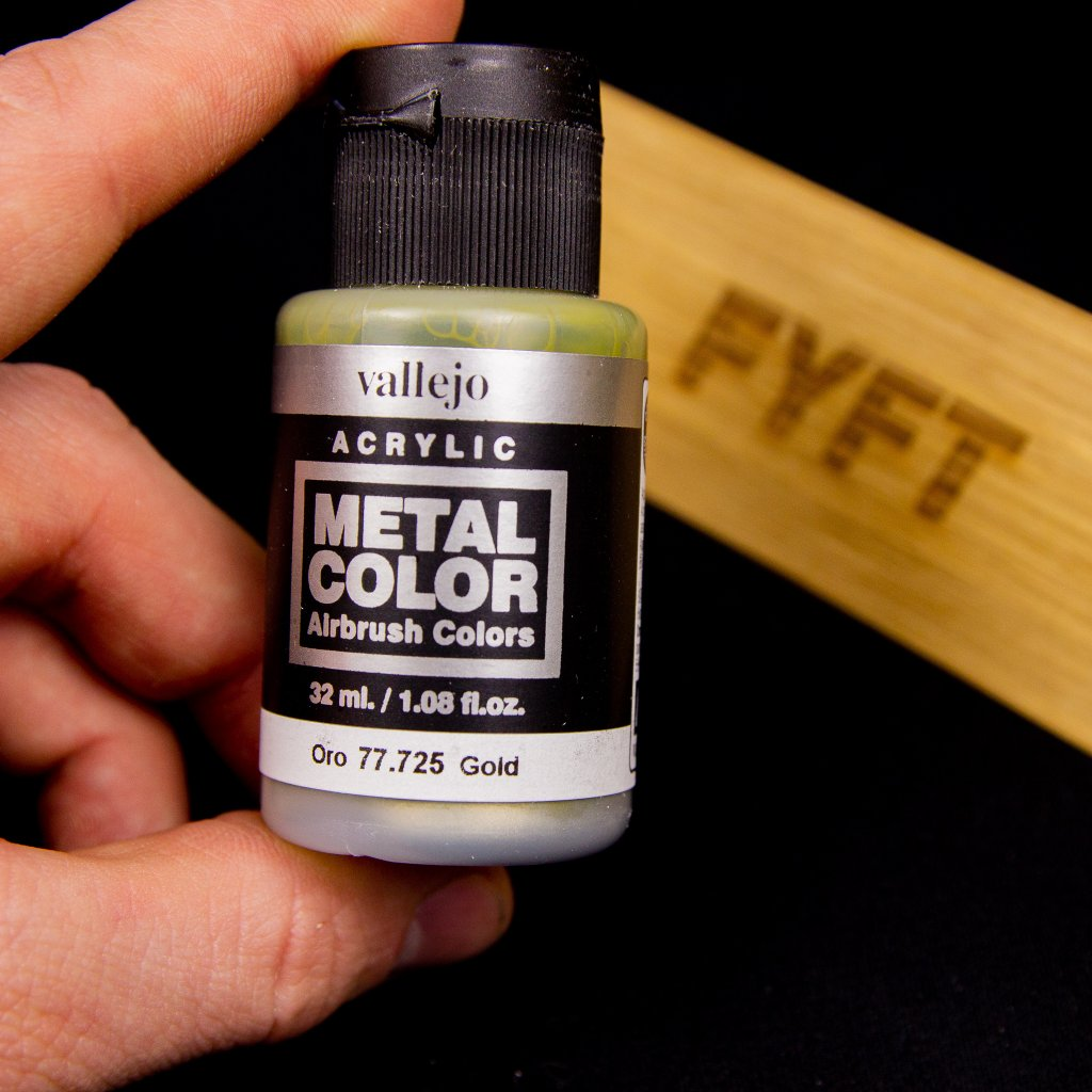 Vallejo Metal Color 77.725 Gold 32ml