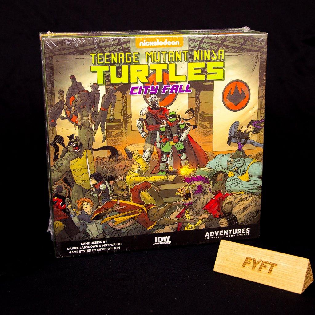 Teenage Mutant Ninja Turtles Adventures: City Fall - EN (IDW Games)