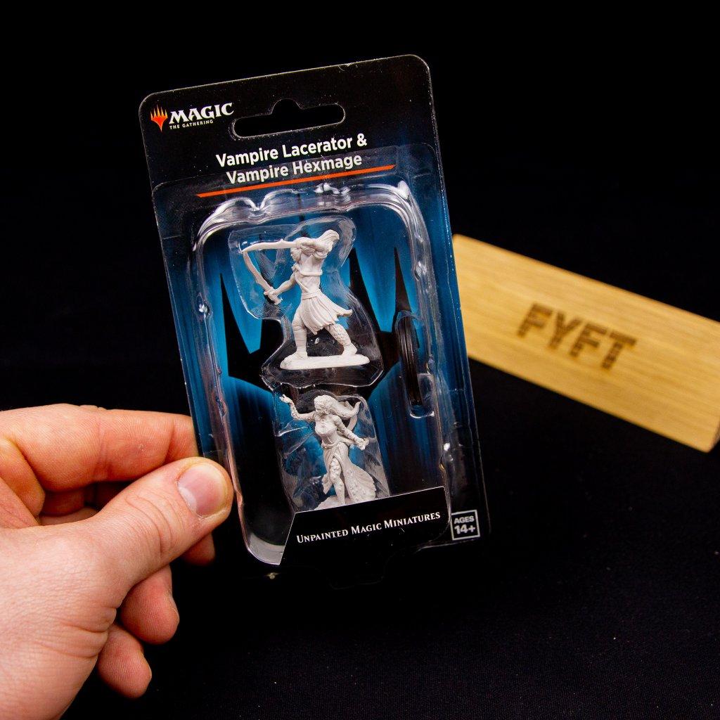 MTG: Unpainted Magic Miniatures: Vampire Lacerator & Vampire Hexmage