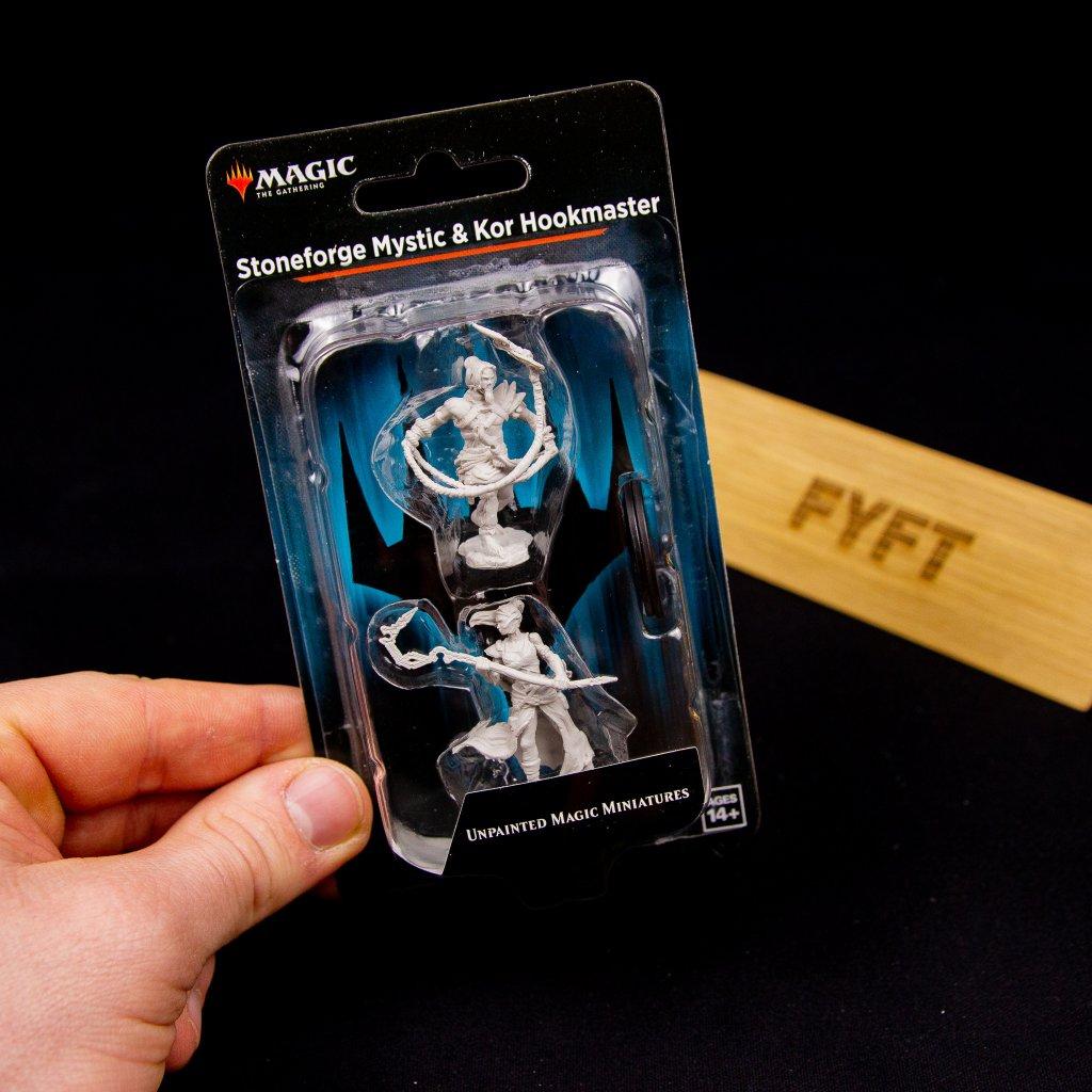 MTG: Unpainted Magic Miniatures: Stoneforge Mystic & Kor Hookmaster