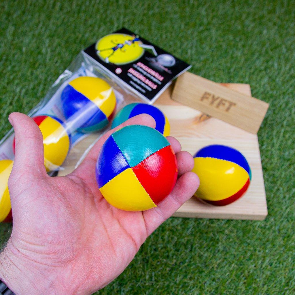 Sada 3 žonglovacích soft míčků (Mr.Babache)