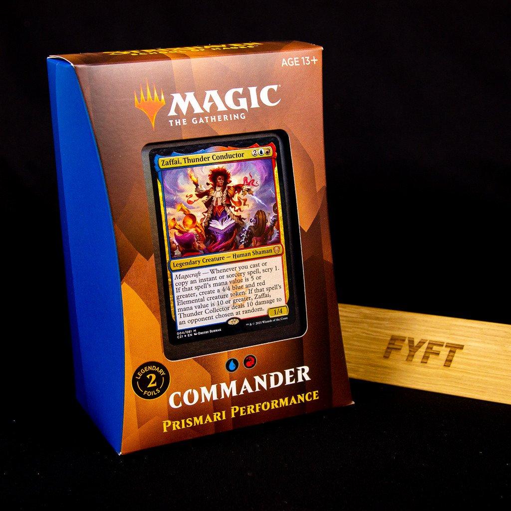 Prismari Performance - Strixhaven: School of Mages Commander Deck (Magic: The Gathering)