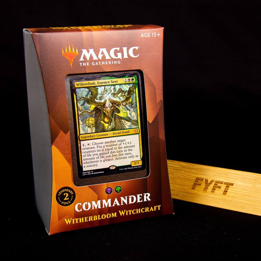 Witherbloom Witchcraft - Strixhaven: School of Mages Commander Deck (Magic: The Gathering)