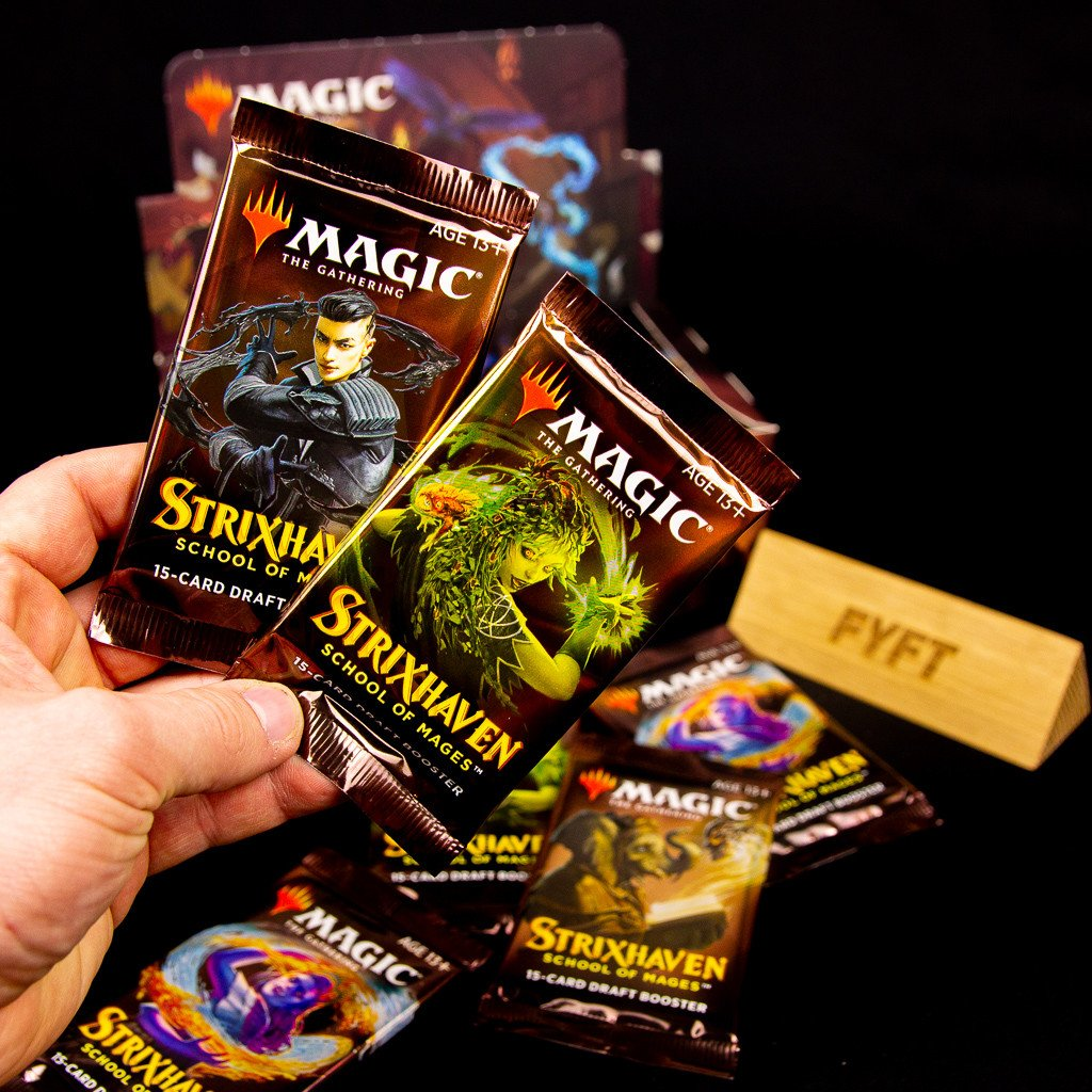 Strixhaven: School of Mages Draft Booster (Magic: The Gathering)