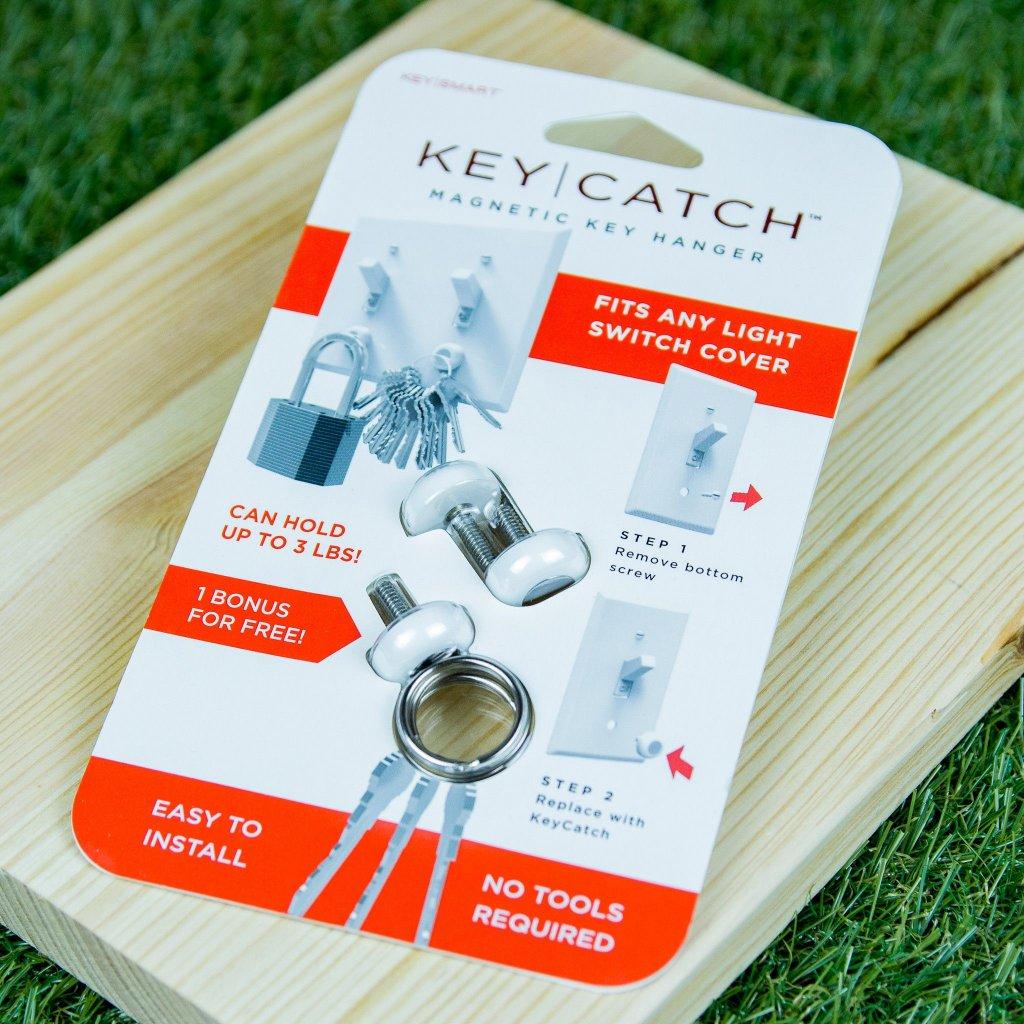 KeySmart KeyCatch - magnetický věšáček na klíče
