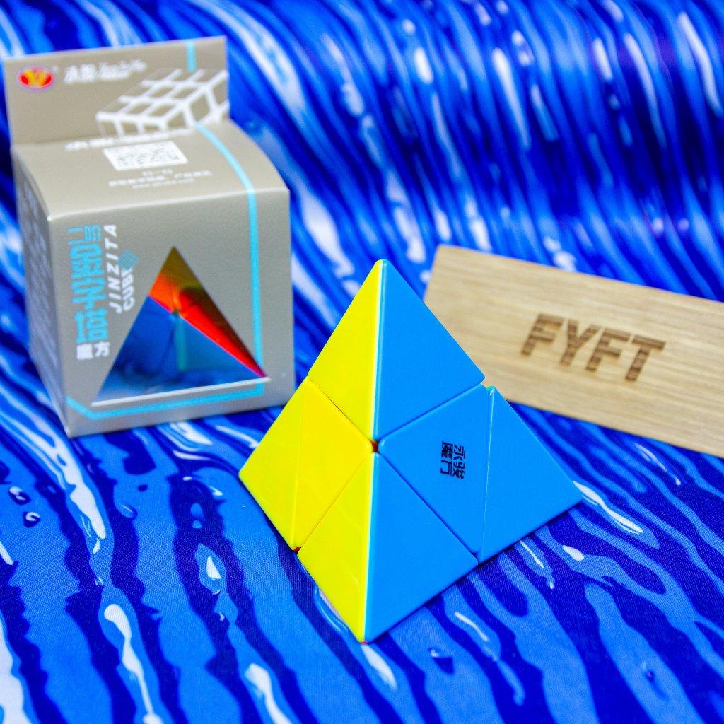 Pyraminx 2 vrstvy - pyramorphix (YJ)