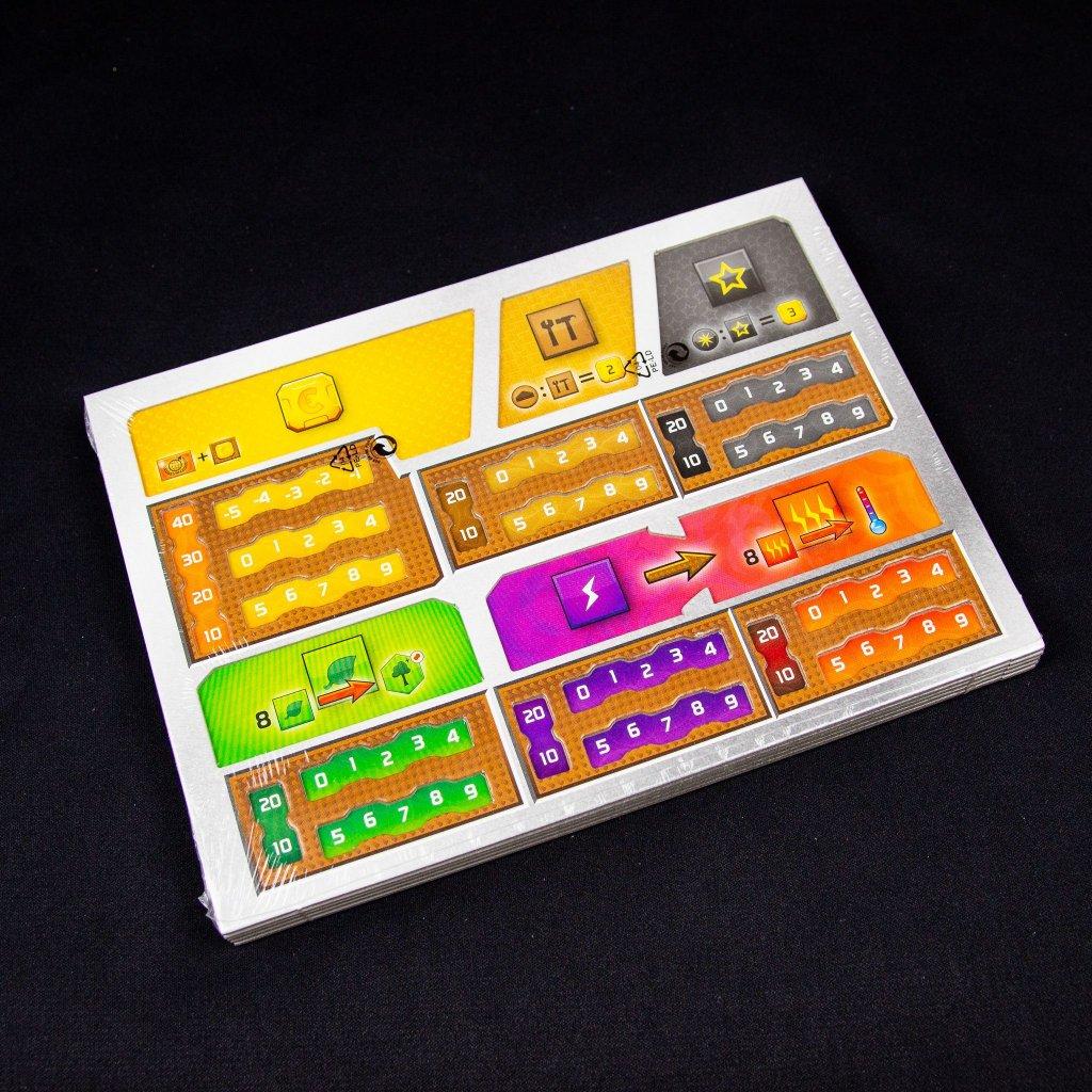 Hrací desky ke hře Mars - Teraformace: Neklid (Mindok)
