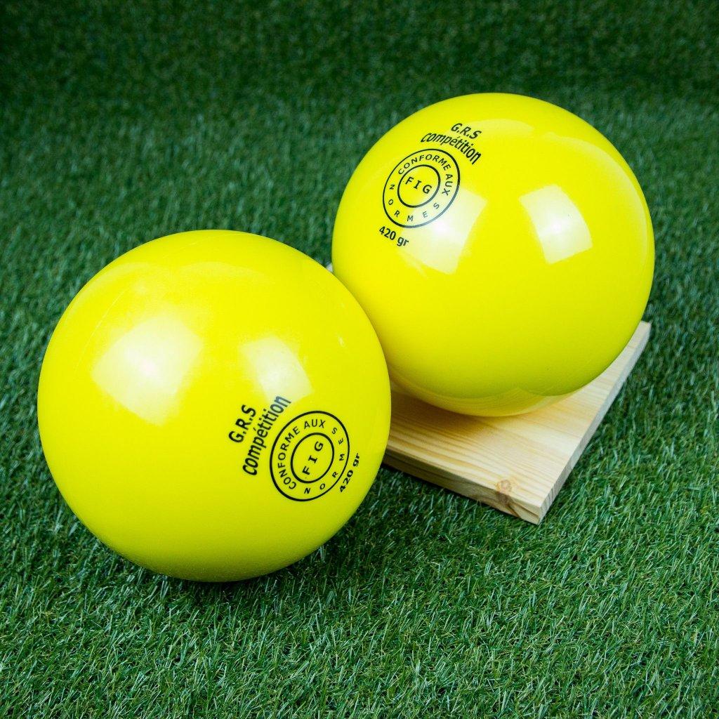 Gymnastický míč G.R.S. competition (19cm, 420g)