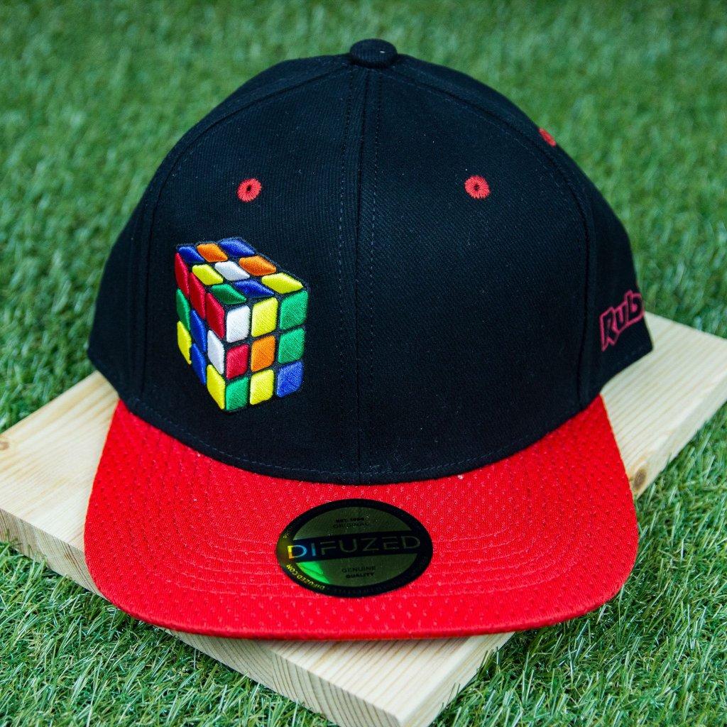 Rubik's snapback - kšiltovka (Difuzed)