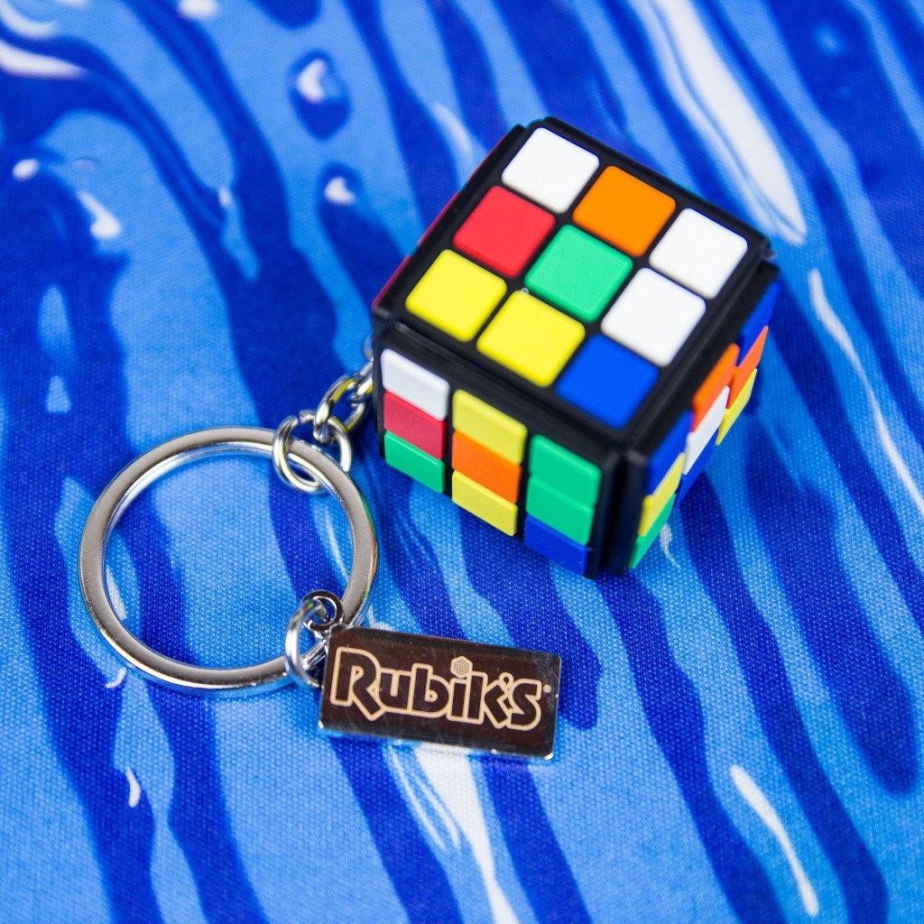 Klíčenka Rubikova kostka - 3D gumový (Difuzed)