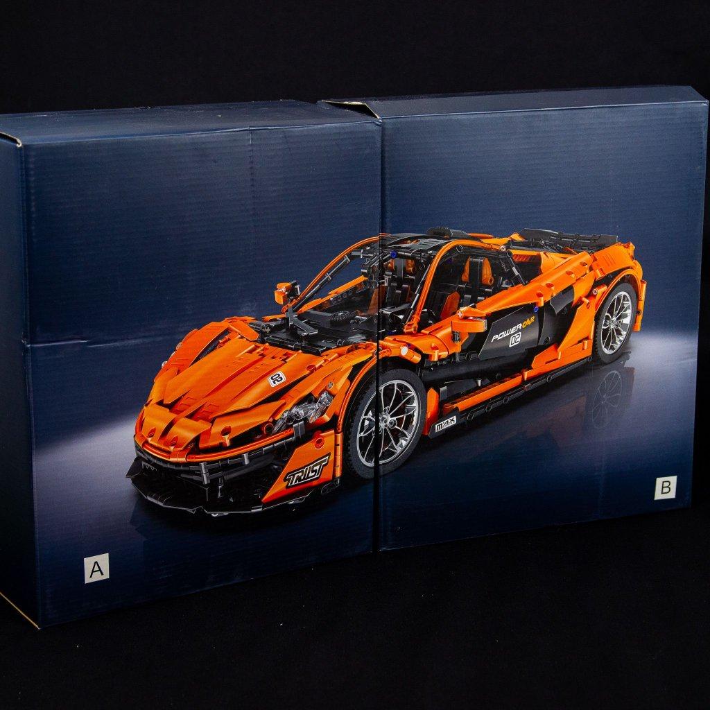 Stavebnice Models no. P1 McLaren (Mould King)