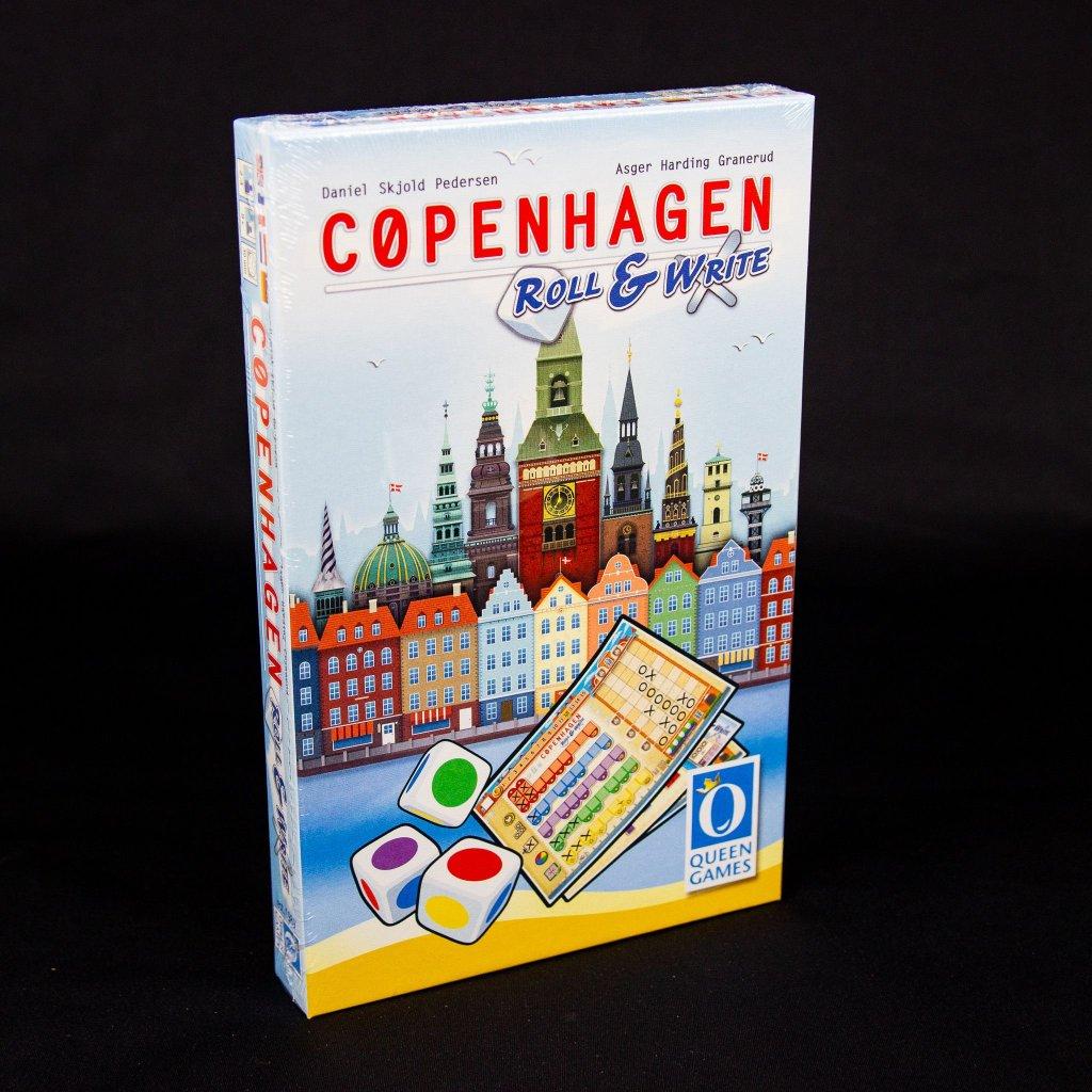 Copenhagen: Roll & Write - EN/FR/NL/DE (Queen Games)