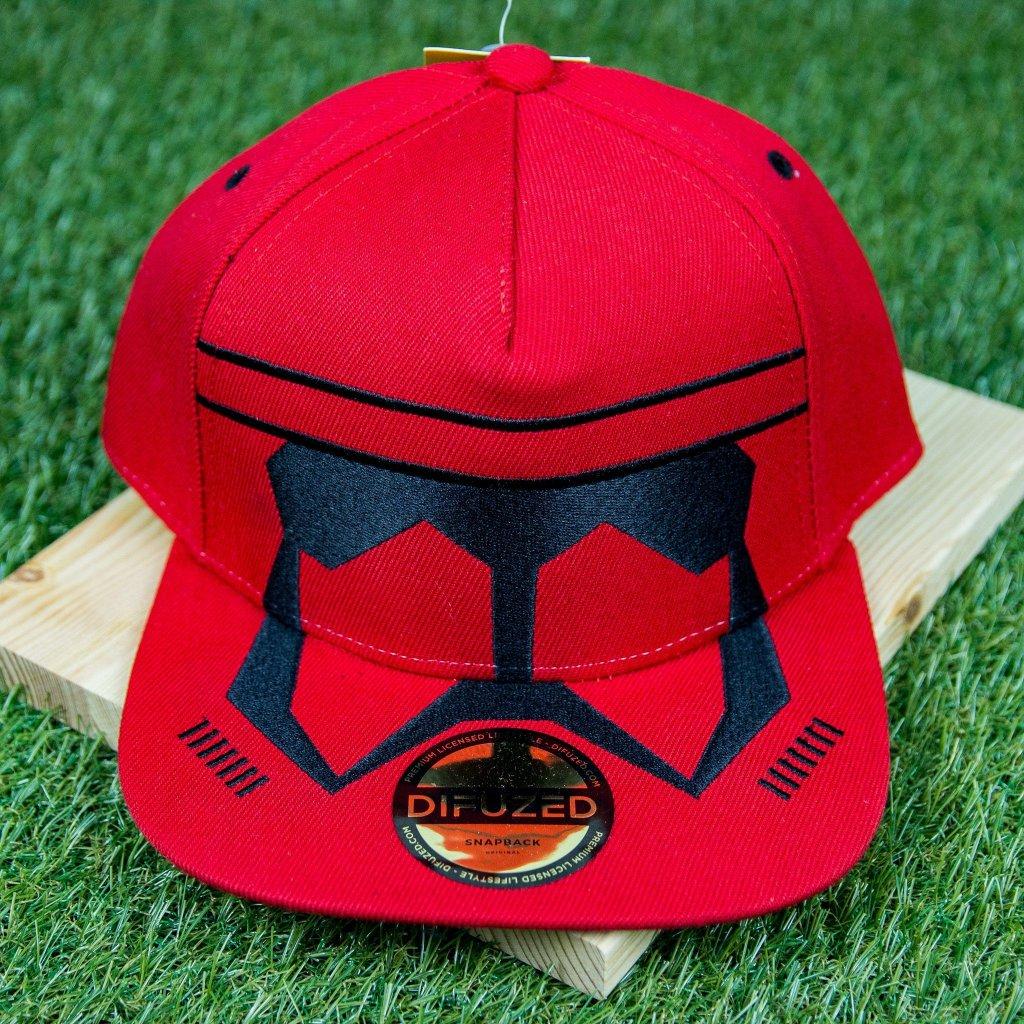 Star Wars snapback - kšiltovka: Red Trooper (Difuzed)