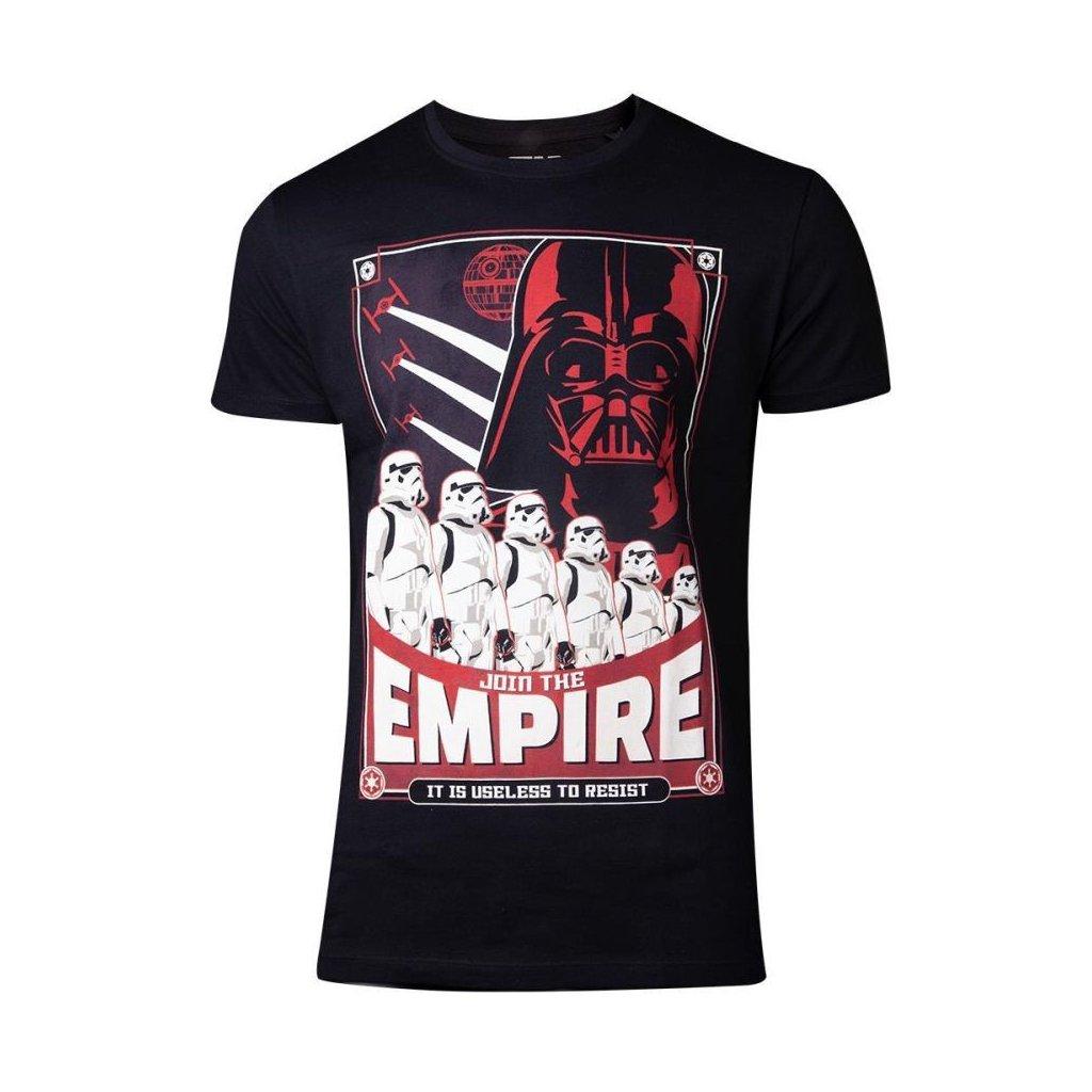 Triko Star Wars: Join the Empire - pánské (Difuzed)