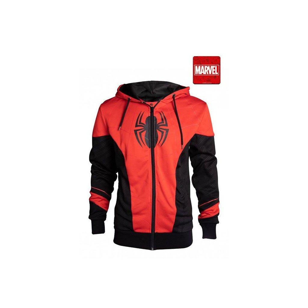 Mikina Spiderman: Red & Black - pánská (Difuzed)