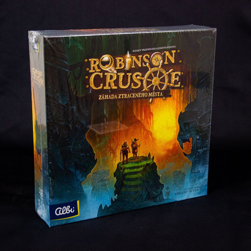 Robinson Crusoe - Záhada ztraceného města (Albi)