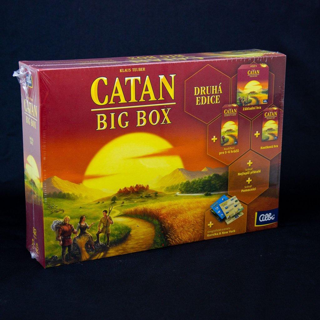 Catan: Big Box - druhá edice (Albi)