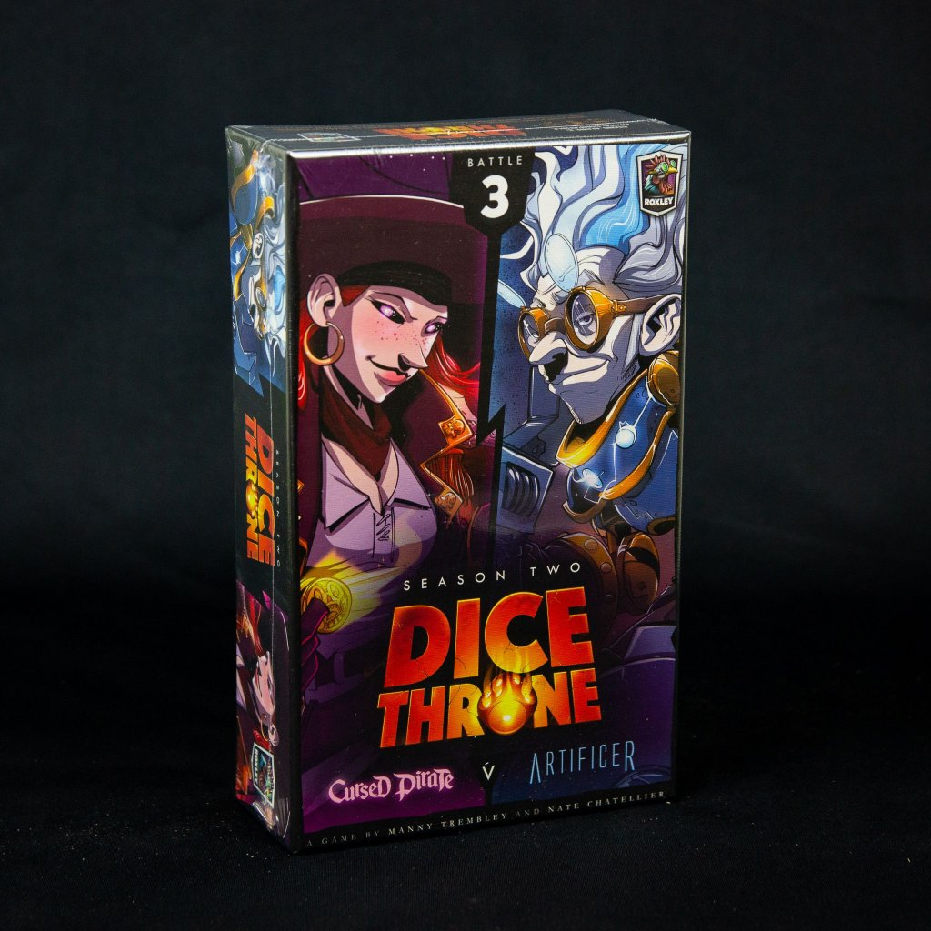 Dice Throne: Season Two – Cursed Pirate v. Artificer - EN (Roxley)